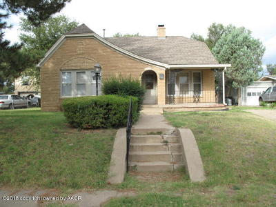 Potter County Single Family Home For Sale: 1312 Rosemont St
