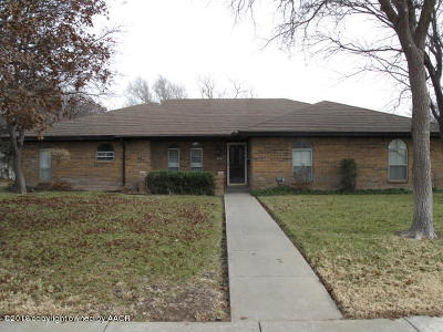 Amarillo Single Family Home For Sale: 3719 Huntington Dr