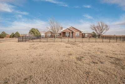 Randall Single Family Home For Sale: 5601 Coyote Springs