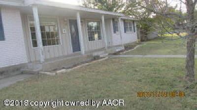 Single Family Home For Sale: 100 Kiekbusch St
