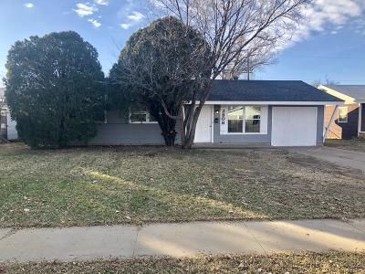 Amarillo Single Family Home For Sale: 2808 Trigg St