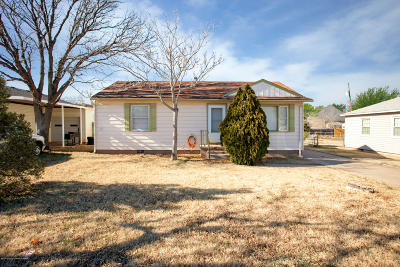 Amarillo Single Family Home For Sale: 303 Western St