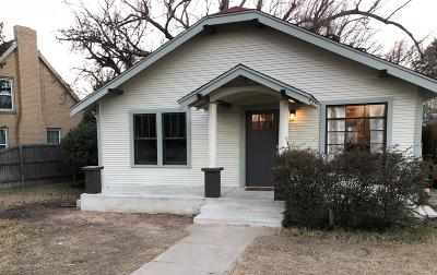 Amarillo Single Family Home For Sale: 805 Sunset Ter