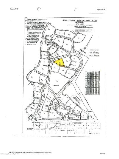 Amarillo Residential Lots & Land For Sale: 32 Citadel Dr