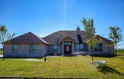 Amarillo Single Family Home For Sale: 15001 Henry Avent Dr