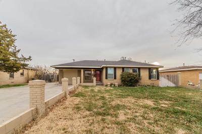 Amarillo Single Family Home For Sale: 3609 Julian S Blvd