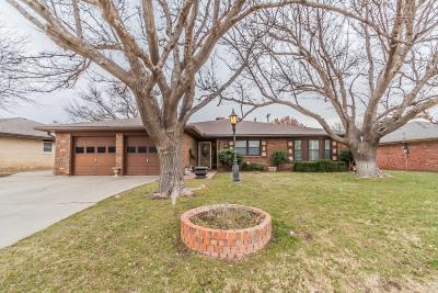 Amarillo Single Family Home For Sale: 3905 Teckla Blvd