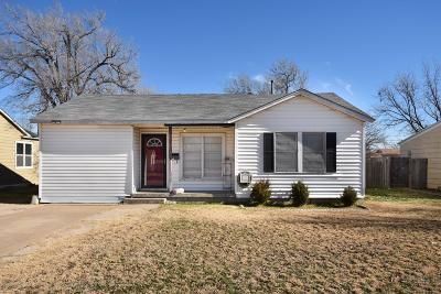 Amarillo Single Family Home For Sale: 4011 Ong St