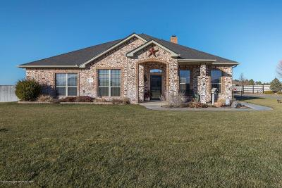 Amarillo Single Family Home For Sale: 19650 Winding River Rd