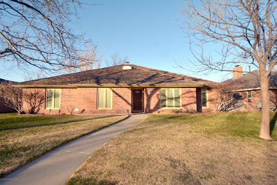 Randall County Single Family Home For Sale: 6610 Wentworth Dr