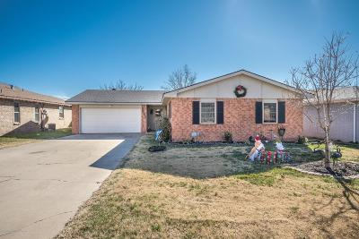 Amarillo Single Family Home For Sale: 2905 Salem Dr