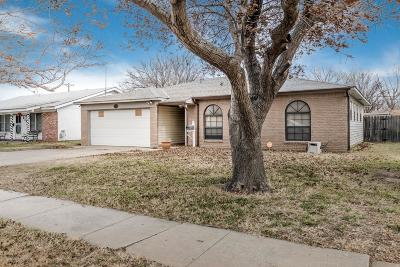 Amarillo Single Family Home For Sale: 5117 Chisholm Trl