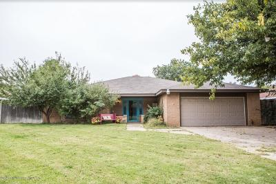 Amarillo Single Family Home For Sale: 8404 Olympia Dr