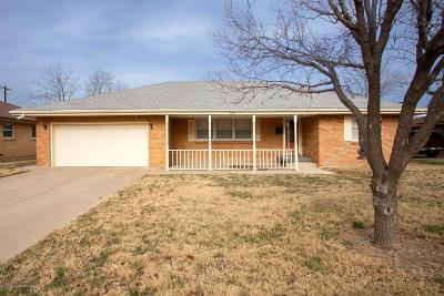 Amarillo Single Family Home For Sale: 3010 Mockingbird Ln