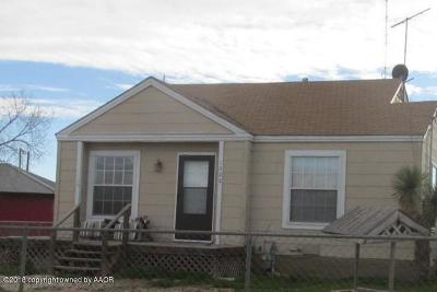 Borger Single Family Home For Sale: 1028 Hedgecoke
