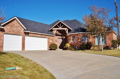 Amarillo Single Family Home For Sale: 5 Troon Ct