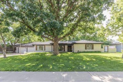 Amarillo Single Family Home For Sale: 2807 Travis St