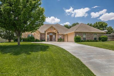 Amarillo Single Family Home For Sale: 5 Pebble Beach Ct