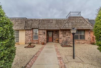 Amarillo Condo/Townhouse For Sale: 6132 Belpree Rd