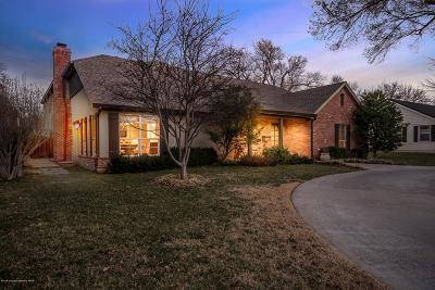 Amarillo Single Family Home For Sale: 3223 Crockett St