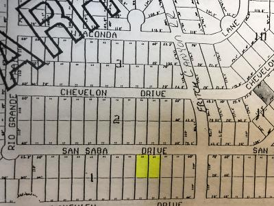 Fritch Residential Lots & Land For Sale: Lots:26-27 San Saba Dr.