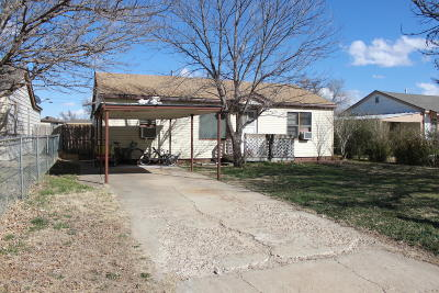 Carson County Single Family Home For Sale: 1408 Park Ave