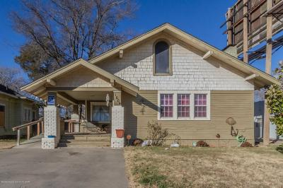 Single Family Home For Sale: 1604 Canyon Dr