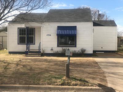 Amarillo Single Family Home For Sale: 1706 Roosevelt St