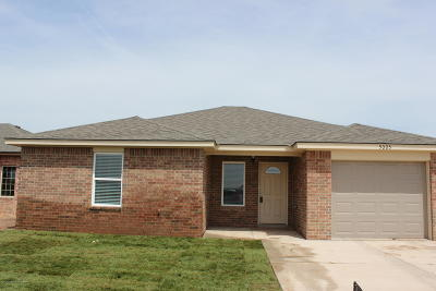 Amarillo Single Family Home For Sale: 5005 Eberly St