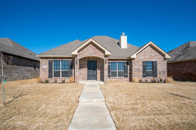 Amarillo Single Family Home For Sale: 9502 Heritage Hills Pkwy