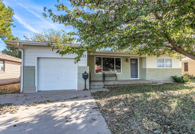 Amarillo Single Family Home For Sale: 1117 Bell St