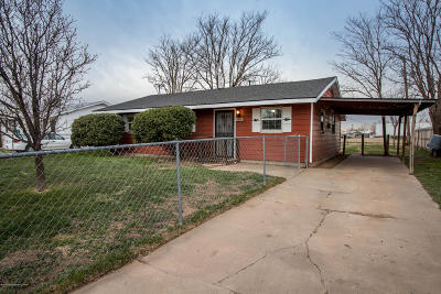 Amarillo Single Family Home For Sale: 1331 Aster St