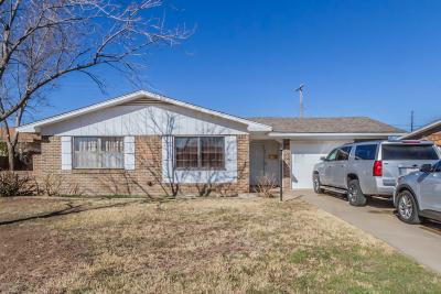 Amarillo Single Family Home For Sale: 4610 Bryan St