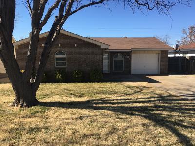 Amarillo Single Family Home For Sale: 4204 Fannin St