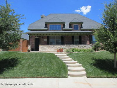 Potter County, Randall County Single Family Home For Sale: 8110 Shadywood Dr