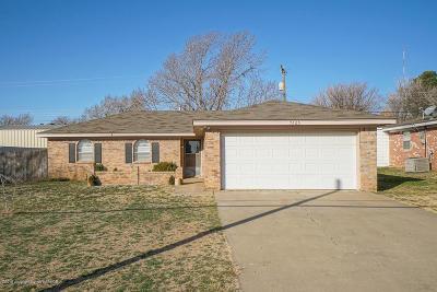 Amarillo Single Family Home For Sale: 7605 Bluebonnet Dr