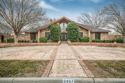 Single Family Home For Sale: 6407 Claremont Dr