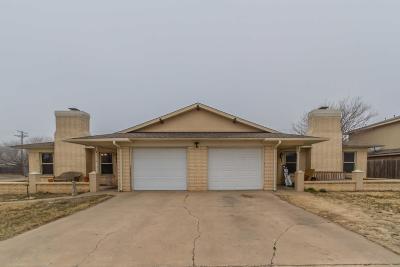 Amarillo Condo/Townhouse For Sale: 4352 Ridgecrest Cir