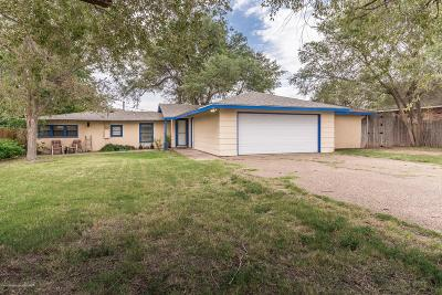 Amarillo Single Family Home For Sale: 1703 Rosemont S St