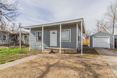 Amarillo Single Family Home For Sale: 1112 Trigg St