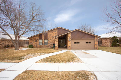 Randall County Single Family Home For Sale: 7033 Chelsea Dr