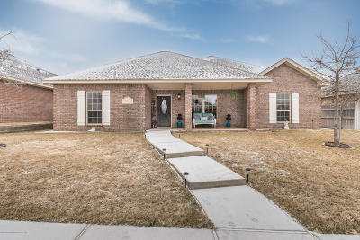 Amarillo Single Family Home For Sale: 8409 Vail Dr