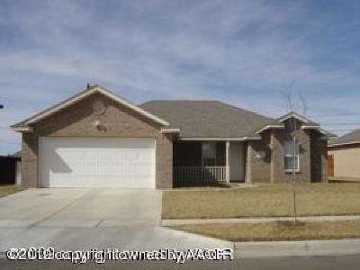 Amarillo Single Family Home For Sale: 4016 Williams St