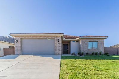 Amarillo Single Family Home For Sale: 1105 Chardonnay Blvd