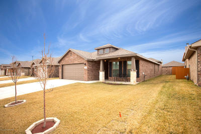 Amarillo Single Family Home For Sale: 9611 Rockwood Dr