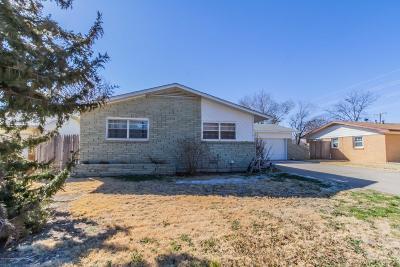 Amarillo Single Family Home For Sale: 2611 Watson Pl