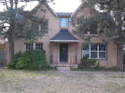 Amarillo Single Family Home For Sale: 803 Sunset Ter