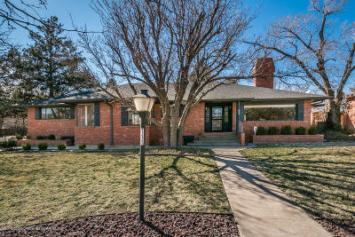 Amarillo Single Family Home For Sale: 111 Parkview Dr