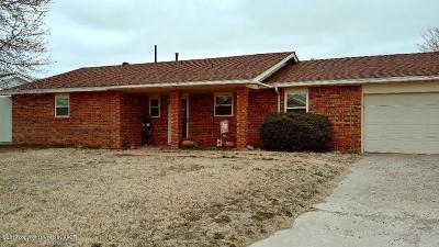 Fritch Single Family Home For Sale: 603 Cornell Ave