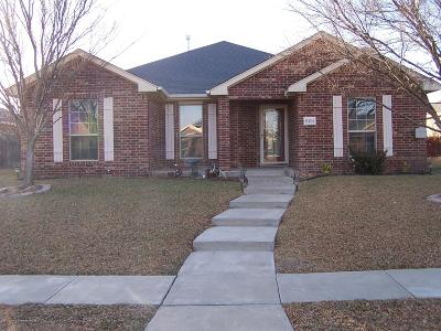 Amarillo Single Family Home For Sale: 8114 Vail Dr